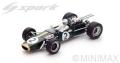 [予約]Spark (スパーク) 1/18 Brabham BT24 No.2 3rd メキシコ GP - World Champion 1967 Denis Hulme