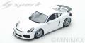 [予約]Spark (スパーク) 1/18 ポルシェ Cayman GT4 Clubsport 2017