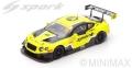 [予約]Spark (スパーク)  1/18 ベントレー コンチネンタル GT3 No.10 5th マカオ GT World Cup 2016 Adderly Fong