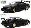グリーンライト 1/18 1999 日産 スカイライン GT-R (R34) - Black Pearl