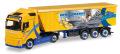 "herpa Cars&Trucks 1/87 ボルボ FH Gl Stoffel-Linerトラックセミトレーラー""Ernst Franke"""