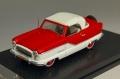 [予約]VITESSE(ビテス) 1/43 ナッシュ メトロポリタン クーペ 1959 ホワイト/Mardi Gras Red ※再受注