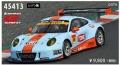 [予約]EBBRO (エブロ) 1/43 ★GULF NAC ポルシェ 911 GT300 No.9 レジン製 ブルー/オレンジ