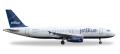 """[予約]herpa wings 1/500 A320 ジェットブルー航空 """"Tartan"""" Tail N508JL"""