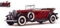 [予約]SunStar(サンスター) 1/18 フォード リンカーン KB Top Down 1932 Rebelite レッド
