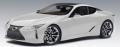 [予約]AUTOart (オートアート) コンポジットモデル 1/18 レクサス LC500 (メタリック・ホワイト ※インテリア・カラー/ブラック)