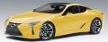 [予約]AUTOart (オートアート) コンポジットモデル 1/18 レクサス LC500 (メタリック・イエロー ※インテリア・カラー/ブラック)
