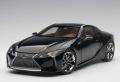[予約]AUTOart (オートアート) コンポジットモデル 1/18 レクサス LC500 (ブラック ※インテリア・カラー/タン)