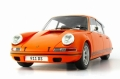 [予約]AUTOCULT(オートカルト) 1/18 Brandpowder Citroen-Prosche 911 オレンジ 2013