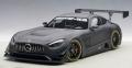 AUTOart (オートアート) コンポジットモデル 1/18 メルセデス・AMG GT3 (マット・ブラック)