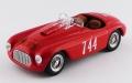 ART MODEL(アートモデル) 1/43 フェラーリ 195S バルケッタ カラブリア レース 1950 #744 Serafini/Salami シャーシNo.0060 優勝車