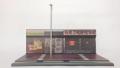 [予約]TINY(タイニー) 1/35 香港ストリート ジオラマセット 屋台シリーズ展示用 ※街灯付き