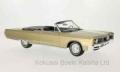 [予約]BoS Models 1/18 クライスラー ニューポート コンバーチブル 1967 メタリックベージュ