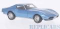 [予約]BoS Models 1/43 シボレー コルベット (C3) 1973 メタリックライトブルー