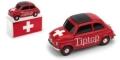 [予約]BRUMM(ブルム) 1/43 フィアット ニュー 500 スイス Tip Top - Bilux