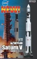 [予約]SPACE DRAGON 1/72 サターンVロケット w/スカイラブ (完成品)