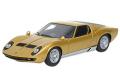 [予約]EIDOLON(アイドロン) 1/43  ランボルギーニ Miura P400 1967 ゴールド/シルバー ※再生産
