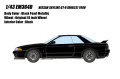 [予約]EIDOLON(アイドロン) 1/43 日産 スカイライン GT-R (BNR32) 1989 ブラックパールメタリック