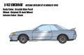 [予約]EIDOLON(アイドロン) 1/43 日産 スカイラインGT‐R (BNR32) 1991 グレイッシュブルーパール