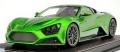 [予約] FRONTIART (フロンティアート) 1/18 Zenvo ST1 (transparent green)限定100台