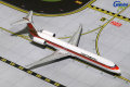 Gemini Jets 1/400 MD-80 コンチネンタル航空 Red Meatball Livery N980IF