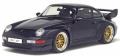 GTスピリット 1/18 ポルシェ 911 GT (993) (ダークブルー) 世界限定: 1,500個