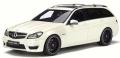 [予約]GTスピリット 1/18 メルセデスベンツ C63 AMG Tモデル (S204) (ホワイト)世界限定:1.250個