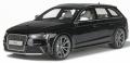 [予約]GTスピリット 1/18 アウディ RS4 B8(ブラック) 世界限定:750個