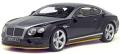 [予約]GTスピリット 1/18 ベントレー コンチネンタル GT スピード ブライトリングスペシャルカラー (ブラック/グレー/イエロー) 世界限定: 1,000個