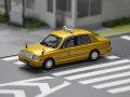 GULLIVER64 (ガリバー64) 1/64 フジタクシー 50周年プロジェクト 金のフジタクシー