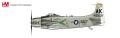 """[予約] HOBBY MASTER 1/72 A-1H スカイレイダー """"パフ・ザ・マジックドラゴン"""" アメリカ海軍"""
