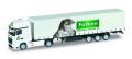 "herpa Cars&Trucks 1/160 MB アクトロス カーテンキャンバス セミトレーラー ""Brauerei Falken"""