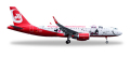 """herpa wings 1/500 A320 エアベルリン """"Lindt Hello Flying Home for Christmas"""" D-ABNM"""
