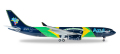 "herpa wings 1/200 A330-200 アズール航空 ""Brazilian Flag"""