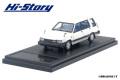 [予約]Hi-Story(ハイストーリー) 1/43 トヨタ スプリンター CARIB AV-II (1985) ホワイト