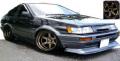 [予約]ignition model(イグニッションモデル) 1/43 トヨタ カローラ Levin (AE86) 3Door GT Apex ブラック/シルバー ★生産予定数:120pcs