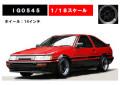[予約]ignition model(イグニッションモデル) 1/18 トヨタ Corolla Levin (AE86) 3-Door GT Apex Red/Black ★生産予定数:120pcs