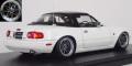 [予約]ignition model(イグニッションモデル) 1/18 Eunos Roadster (NA) ホワイト ★生産予定数:140pcs