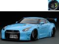 ignition model(イグニッションモデル) 1/43 LB-WORKS GT-R (R35) Light Blue ★生産予定数:200pcs