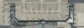 [予約]全日空商事 1/1000 精密イラスト羽田空港第2旅客ターミナルビル(2枚組)