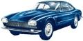 [予約]KESS (ケス) 1/43 マセラティ 5000 GT ベルトーネ 1961 メタリックブルー (2 フロントライト)