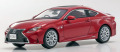 京商オリジナル 1/43 Lexus RC350 F Sport (ラディアントレッドコントラストレイヤリング)