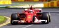[予約]LOOKSMART(ルックスマート) 1/43 Scuderia Ferrari SF70H 4th Place Australian GP 2017  Kimi Raikkonen