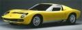 [予約]LOOKSMART(ルックスマート) 1/18 ランボルギーニ ミウラ P400 SV ジュネーブモーターショー 1971