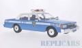 モデルカーグループ 1/18 シボレー カプリス クラシックセダン NYPD ポリスカー 1985 ライトブルー/ホワイト