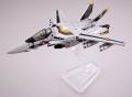 マクロスモデラーズ × トミーテック 技MIX 1/144 VF-1S ロイ・フォッカースペシャル ファイターモード