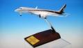 全日空商事 1/200 MRJ90 JA21MJ 飛行試験機初号機 木製台座