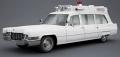 [予約]MATRIX(マトリックス) 1/43 キャデラック スーペリアー 51 + 救急車 1970 ホワイト