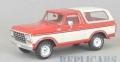 [予約]NEO(ネオ) 1/43 フォード ブロンコ 1979 レッド/ホワイト