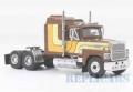 [予約]NEO(ネオ) 1/64 フォード LTL 9000 1986 ブラウン/イエロー